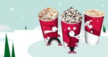 IMAGE: Starbuck's BOGO holiday drinks