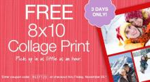 IMAGE: Walgreens FREE photo collage!