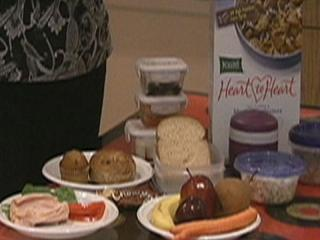 WRAL Smart Shopper Faye Prosser shares tips to make inexpensive, healthy school lunches.