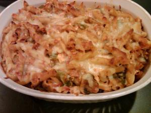 Chicken and pasta casserole