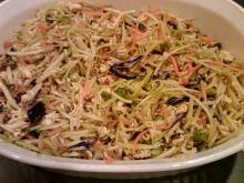Broccoli Slaw with Ramen Noodles