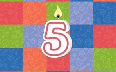 Swagbucks 5th Birthday!