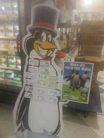 Penguin coupon display March 2013