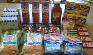 Faye's Lowes Foods purchases for $8.06