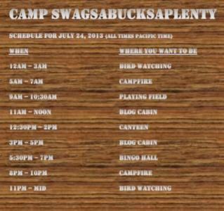 Swagbucks code schedule