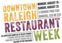 Raleigh Restaurant Week