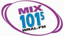 IMAGE: Chatting on WRAL-FM 101.5 on Thursday morning!