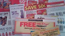 IMAGE: Frugal living series blog video: Different types of coupons