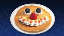 IMAGE: FREE IHOP Scary Face Pancake for the kids on 10/31!