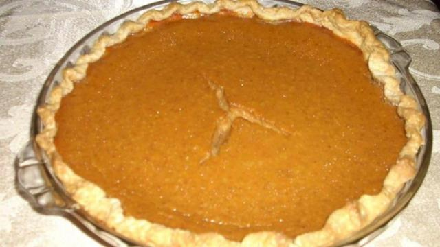 Faye's pumpkin pie