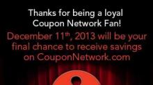 Coupon Network closing