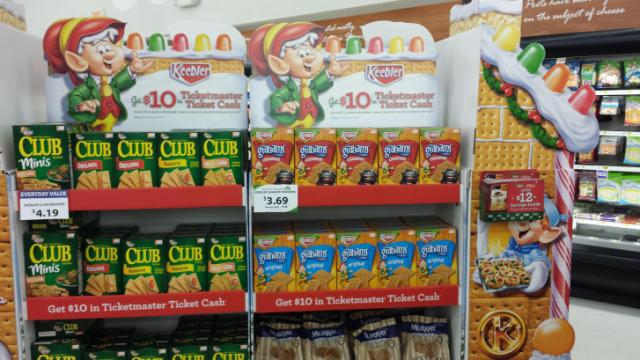 Keebler Display