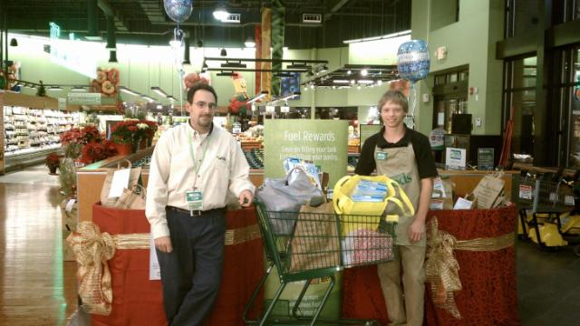 Lowes Foods Food Drive 2011