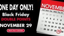 IMAGE: KelloggsFamilyRewards.com DOUBLE points on Black Friday!