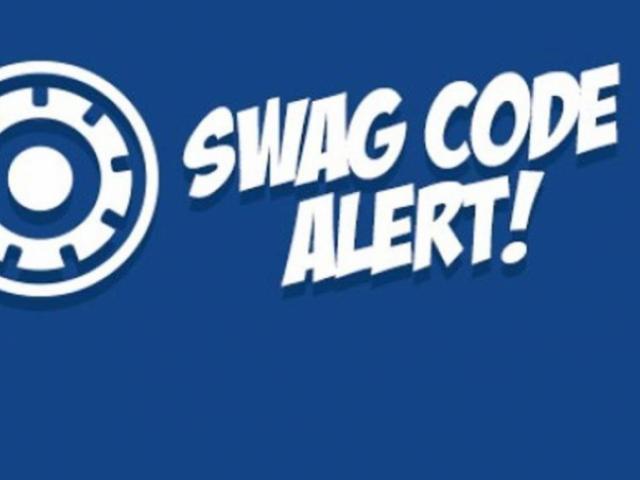 Swag Code Alert!