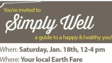IMAGE: Earth Fare Simply Well Event on Saturday with freebies!