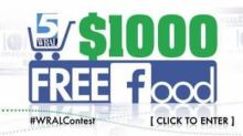 IMAGE: HUGE Giveaway: $1000 grocery gift card EVERY DAY until February 26!