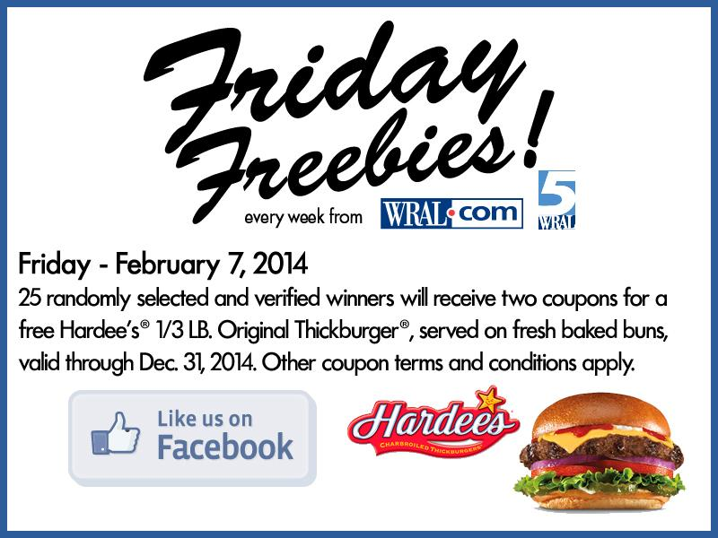 picture about Hardee's Printable Coupons named Giveaway: 50 Hardees Thickburger coupon codes! ::