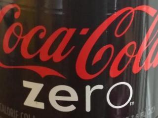 Coke Zero bottle