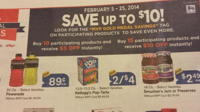 Food Lion Gold Medal Promotion