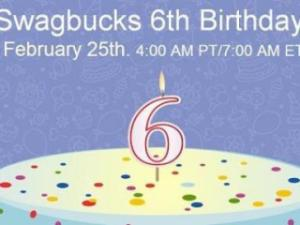 Swagbucks Birthday Bash!