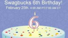 IMAGE: Swagbucks Birthday Celebration is today!
