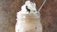 IMAGES: A Spoonful of Luxe recipe: Brownie Mochatella Milkshakes!
