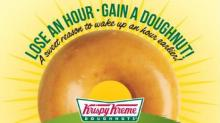 IMAGE: Free Krispy Kreme doughnut on Sunday!