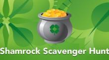 IMAGE: Swagbucks St. Patrick's Day scavenger hunt!
