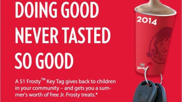 Wendy's Key Tag Promotion