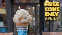 IMAGE: Reminder: Free Ben & Jerry's ice cream cone today!