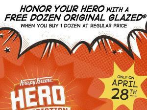Krispy Kreme Hero Appreciation Day