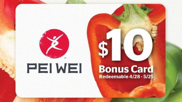 Pei Wei gift card promotion :: WRAL.com