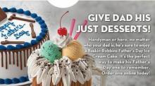 IMAGE: Baskin Robbins $3 cake coupon