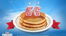 IMAGE: Super IHOP deal: Pancake stack for only 56 cents on 7/8!