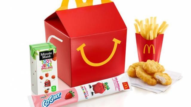 McDonald's Happy Meal with Go-Gurt