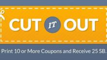 IMAGE: Bonus Swag Bucks when you print coupons & 1 more day of Team Challenge!