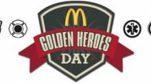 IMAGE: Reminder: McDonald's offers free lunch for Golden Heroes Day on 9/11