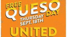 IMAGE: Moe's FREE Queso Day is September 18!