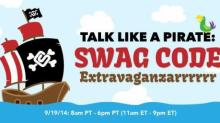 IMAGE: Swagbucks Swag Code Extravaganza today starting at 11 am!