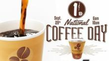 IMAGE: National Coffee Day FREEBIES on Monday, 9/29!