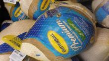 IMAGE: Reminder: List of frozen & fresh turkey sales!