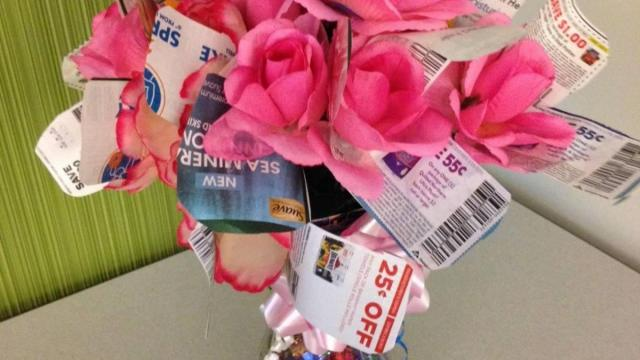Coupon Flower Bouquet