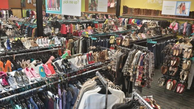 Plato's Closet Brier Creek inside view