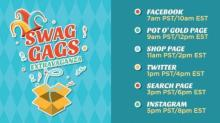 IMAGE: Swagbucks Swag Code Extravaganza on Tuesday, 3/31!