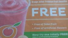 IMAGE: FREE Fruit Smoothie at Dairy Queen!