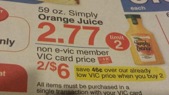 Harris Teeter e-Vic deal