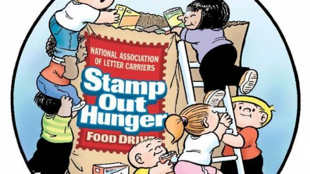 Stamp Out Hunger May 9, 2015