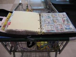 Faye's coupon organizer