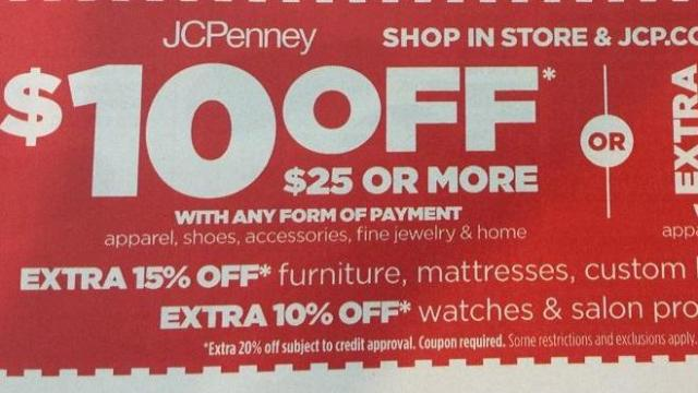 JCPenney coupon: $10 off $25 purchase! :: WRAL com